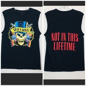 Guns N' Roses Double Sided Graphic Band Tank Small